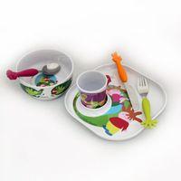 Sztućce dla dzieci, Bugatti - Baby Sweet Home Zestaw obiadowy dla dzieci