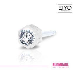 Kolczyk do przekłuwania uszu Blomdahl - Crystal 4 mm