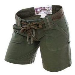 szorty damskie Mil-Tec ARMY WOMAN Ripstop olive green (11137001)