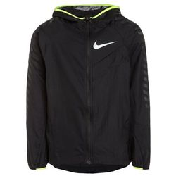 Nike Performance IMPOSSIBLY LIGHT GFX Kurtka do biegania black/volt/reflective silver