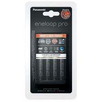 Ładowarki do akumulatorków, Panasonic Ladowarka + 4x akumulatorki Eneloop PRO R6 AA 2500mAh