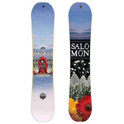 Deski snowboardowe, NOWA DESKA SNOWBOARD SALOMON GYPSY CLASSICKS BY DESIREE 147 CM 2018/19