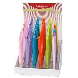 Display ołówków automatycznych PENAC Non Stop 0,5mm, 36 szt., mix kolorów