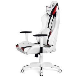 Fotel DIABLO X-Ray XL Biało-czarny DARMOWY TRANSPORT