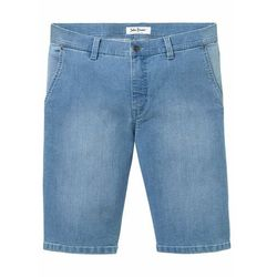 """Wygodne bermudy dżinsowe ze stretchem Regular Fit bonprix niebieski """"bleached"""