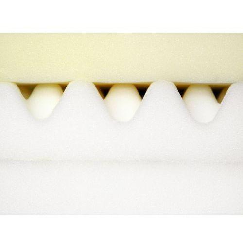 Materace, Materac ortopedyczny z pianki wiskoelastycznej 160x200 cm MEMORY FOAM