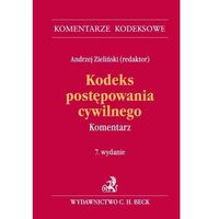 Książki prawnicze i akty prawne, Kodeks postępowania cywilnego. Komentarz - Zamów teraz bezpośrednio od wydawcy (opr. twarda)