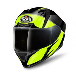 AIROH VALOR ECLIPSE YELLOW GLOSS Kask integralny