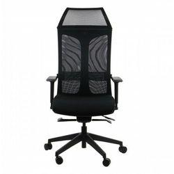 Fotel biurowy gabinetowy obrotowy RYDER/BK