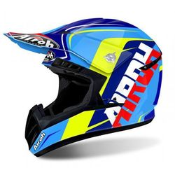 KASK AIROH SWITCH SIGN BLUE GLOSS Off-road