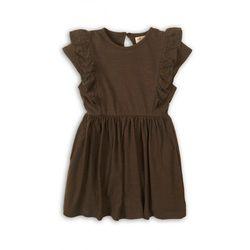 Sukienka dziewczęca brązowa 4K38AS Oferta ważna tylko do 2023-06-02