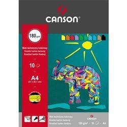 Blok techniczny Canson A4/10k. 400-209 kolorowy