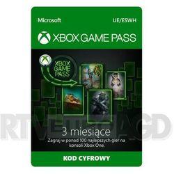 Subskrypcja Promocyjna Xbox Game Pass (3 m-ce) [kod aktywacyjny]