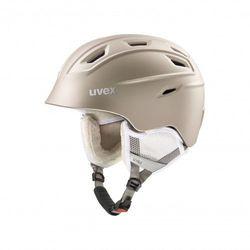 UVEX kask narciarski Fierce - prosecco met mat (55-59 cm)