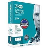 Oprogramowanie antywirusowe, Oprogramowanie antywirusowe ESET Internet Security BOX 1U 12M - EIS1U12MB- natychmiastowa wysyłka, ponad 4000 punktów odbioru!