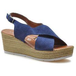 Sandały Marco Tozzi 2-28362-28 Granatowe