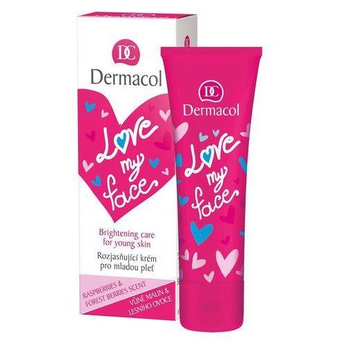 Kremy na dzień, Dermacol Love My Face Brightening Care krem do twarzy na dzień 50 ml dla kobiet
