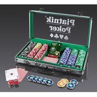 Puzzle, Piatnik, karty, zestaw pokerowy, Propoker 300 żetonów