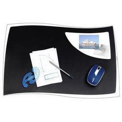 Podkładka na biurko CEP Isis, 63x42cm, czarna