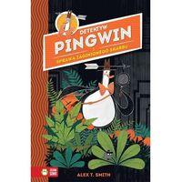 Książki dla dzieci, Detektyw Pingwin i sprawa zaginionego skarbu (opr. twarda)