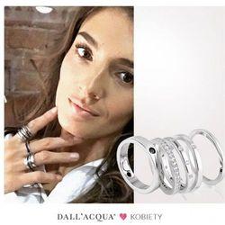 ankabizuteria.pl Komplet pierścionków srebrnych z cyrkoniami - wyjątkowa biżuteria