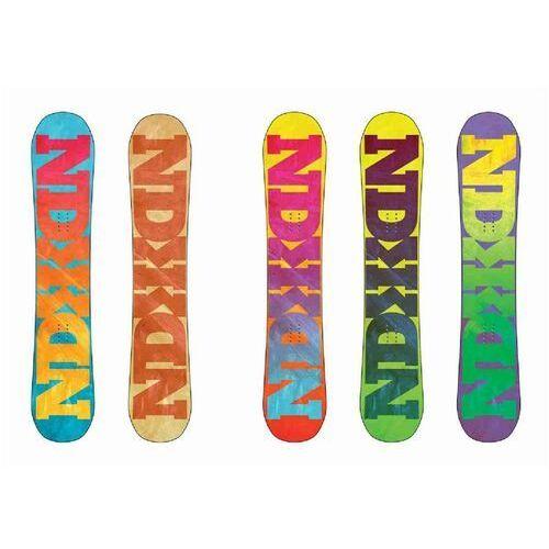 Pozostałe snowboard, snowboard NIDECKER - Snowboard Random Multi (MULTI) rozmiar: 149
