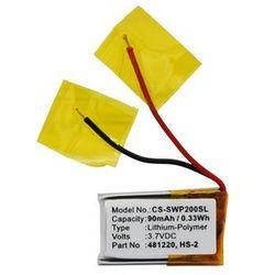 Samsung WEP-200 / 481220 90mAh 0.33Wh Li-Polymer 3.7V (Cameron Sino)