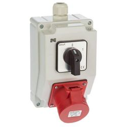 Rozdzielnica elektryczna bez wyposażenia 6271-00 / RS-Z 0-1 3P+N+Z 16A ELEKTRO-PLAST