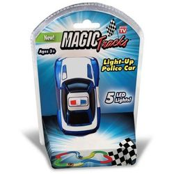 Broszio Magic Tracks Auto LED Radiowóz Policja