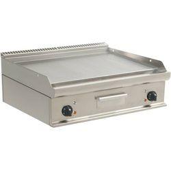 Płyta grillowa elektryczna gładka nastawna | 790x530mm | 10800W