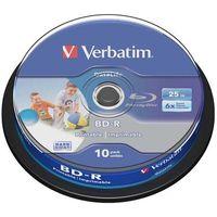 Płyty CD, DVD, Blu-ray, Płyta BD-R SL Verbatim 25GB Cake 10szt.