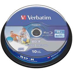 Płyta BD-R SL Verbatim 25GB Cake 10szt.