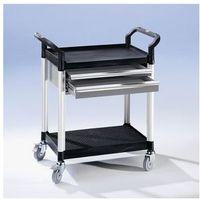 Wózki i stoły narzędziowe, Wózek uniwersalny z szufladami,dł. x szer. x wys. 850 x 480 x 950 mm, 2 szuflady