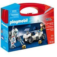 Klocki dla dzieci, Playmobil CITY ACTION Skrzyneczka pojazd kosmiczny 9101