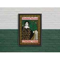 Plakat Plakat Bradley książce Boże Narodzenie