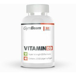 GymBeam Witamina D3 2000 IU 60 kaps