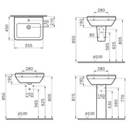 VITRA S50 55 x 48 (5309L003-0001)
