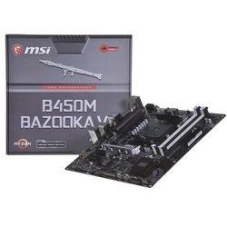 Płyta główna MSI B450M B450M BAZOOKA DDR4 DIMM AM4 Micro ATX RAID SATA- natychmiastowa wysyłka, ponad 4000 punktów odbioru!
