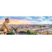 Puzzle, Puzzle TREFL 29029 Panorama Widok z katedry Notre-Dame (1000 elementów)