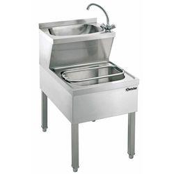 Stół z basenem do mycia rąk ze zlewem