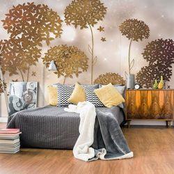 Fototapeta - Złoty ogród