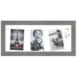 Galeria na zdjęcia 20 x 50 cm sznurkowa szara