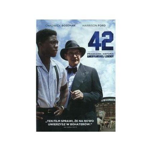 Filmy biograficzne, 42-Prawdziwa historia amerykańskiej legendy (DVD) - Brian Helgeland OD 24,99zł DARMOWA DOSTAWA KIOSK RUCHU