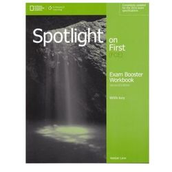 Spotlight on First FCE Exam Booster WB+key 2ed. /CD gratis/