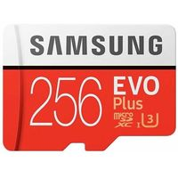 Karty pamięci, Karta pamięci SAMSUNG EVO Plus 256GB MicroSD MB-MC256HA/EU + adapter SD
