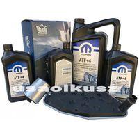 Oleje przekładniowe, Olej MOPAR ATF+4 oraz filtry skrzyni biegów Dodge Durango AWD 2000-2009