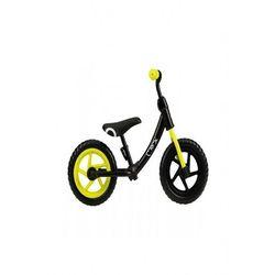 Rowerek biegowy czarno–limonkowy 6Y40AQ