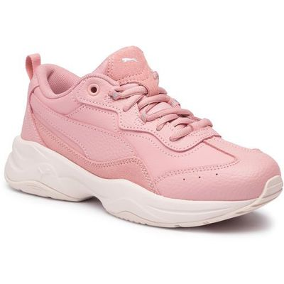 Buty PUMA Cilia Lux 370282 04 B RoseSilverP Parchment, kolor różowy