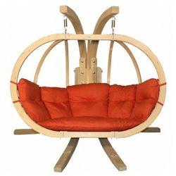 Fotel wiszący na taras terracotta - Parys 3X