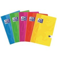 Zeszyty, Zeszyt brulion Oxford Soft Touch A4/96k. 400-022 kratka